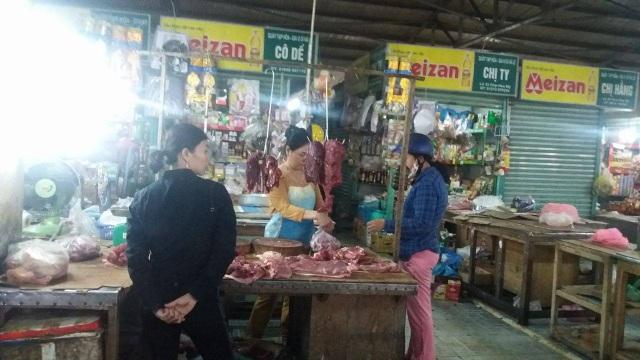 Giá thịt bò vẫn còn hơn so với ngày thường 30 ngàn đồng/kg