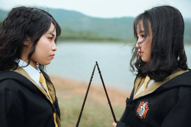 """Độc đáo bộ ảnh kỷ yếu đậm chất """"Harry Potter"""" của học sinh Hải Phòng - 8"""