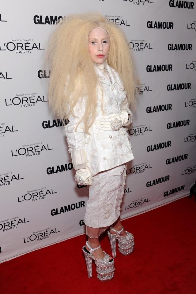 Một trong những tạo hình gây sửng sốt của Gaga.