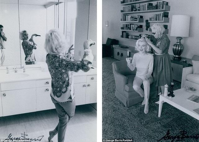 Nhiếp ảnh gia Geroge Barris đã qua đời hồi cuối năm 2016. Nhưng phần lớn bộ ảnh chụp Marilyn Monroe của ông đã được đem bán cho một nhà sưu tập tư nhân từ thập niên 1980.