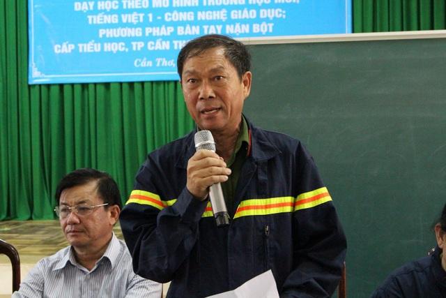 Đại tá Trần Đức Đình - Phó Giám đốc Sở Cảnh sát PCCC Cần Thơ - lý giải vì sao vụ cháy kéo dài.