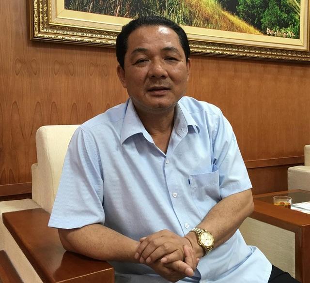 Ông Vũ Văn Học - Bí thư Thị ủy Đông Triều - khẳng định sẽ kiểm tra, rà soát sự việc cụ thể; sai đến đâu xử lý đến đó...