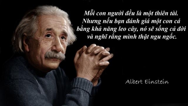 "20 câu nói ""bất hủ"" của thiên tài Albert Einstein - 18"