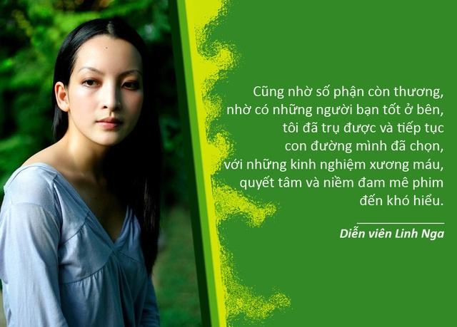 Xem thêm: Diễn viên Linh Nga làm phim ngắn hành động tại Mỹ