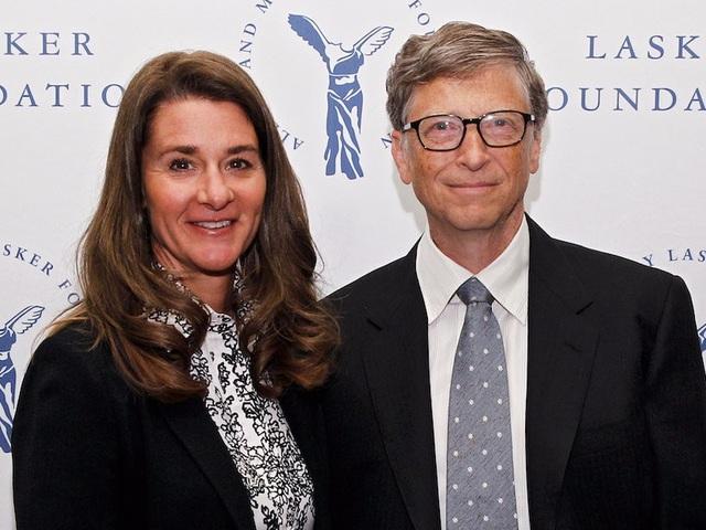 Tỷ phú Bill Gates và Melinda Gates
