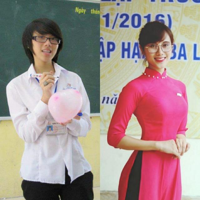 Linh Chi từng cắt phăng mái tóc, nhìn giống nam sinh và từng bỏ bê việc học.