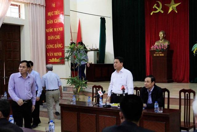 Chủ tịch Hà Nội hứa giải quyết bức xúc, dân Đồng Tâm phấn khởi thỏa lòng - 7