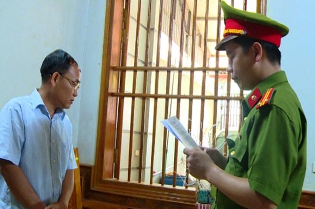 Cơ quan điều tra đọc lệnh bắt tạm giam Trịnh Hồng Xuân