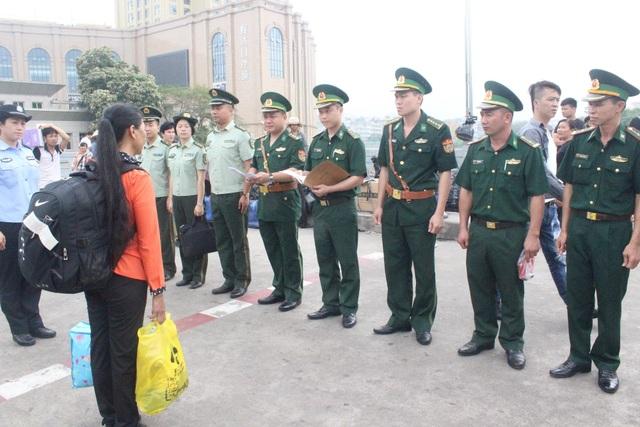 Đồn Biên phòng Cửa khẩu QT Móng Cái đã giải cứu thành công chị Kim sau khi bị lừa bán sang Trung Quốc (ảnh CTV)