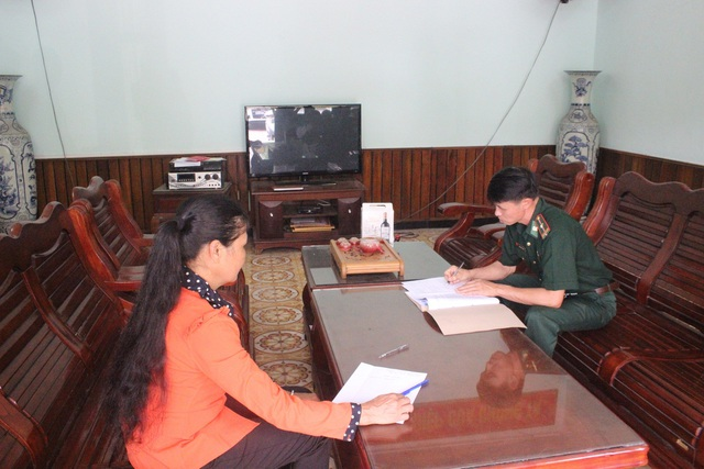 Chị Kim may mắn được trở về với gia đình sau khi bị lừa bán sang Trung Quốc (ảnh CTV)