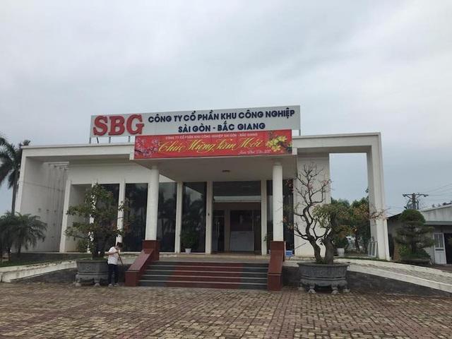 Công ty cổ phần KCN Sài Gòn - Bắc Giang.