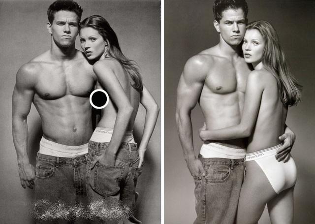 Siêu mẫu Kate Moss gợi nhớ bộ ảnh ngực trần gây tranh cãi - 1