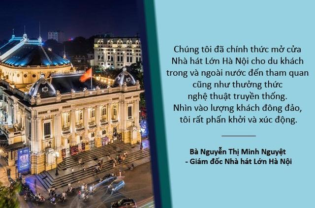 Xem thêm: Vì sao Nhà hát Lớn Hà Nội chỉ mở cửa cho khách tham quan đến hết năm 2017?  Cận cảnh Nhà hát Lớn Hà Nội ngày đầu tiên mở cửa cho du khách tham quan