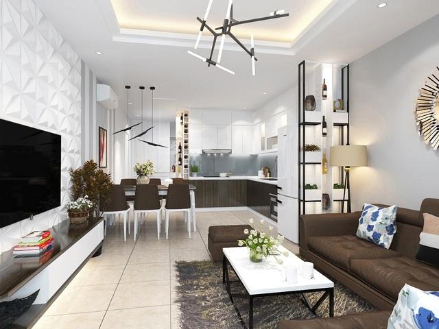 Phối cảnh nội thất căn hộ dự án T&T Riverview