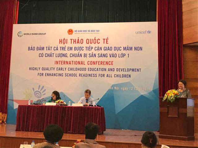 Thông qua Hội thảo quốc tế lần này, những vấn đề then chốt và có tính thời sự của giáo dục mầm non các nước và tổ chức tham gia và đặc biệt tại Việt Nam đã được đánh giá, phân tích sâu.