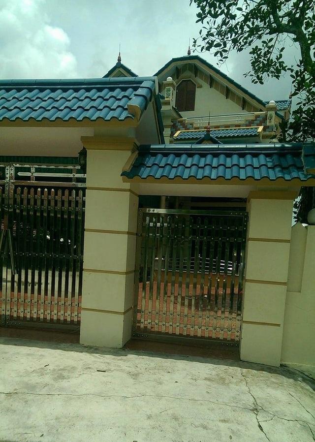Nhà riêng của bà T. (ảnh: CTV)