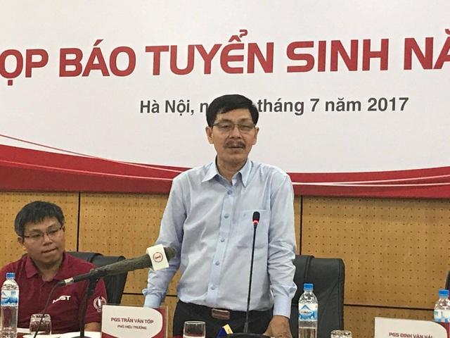PGS.TS Trần Văn Tớp, Phó Hiệu trưởng trường ĐH Bách khoa Hà Nội