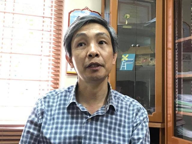 PGS.TS Bùi Đức Triệu, trưởng phòng đào tạo trường ĐH Kinh tế quốc dân