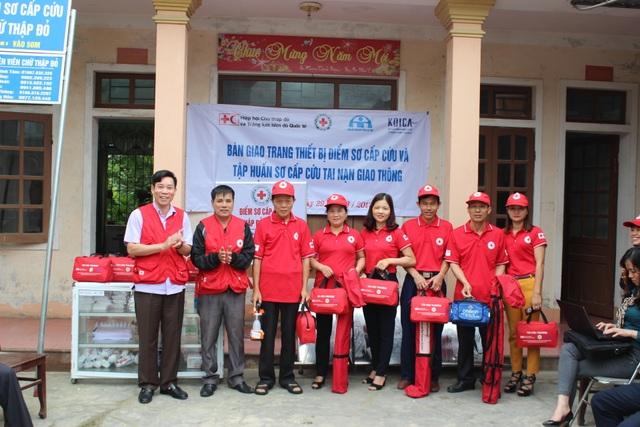 Ra mắt điểm sơ cấp cứu đầu tiên tại Hà Tĩnh