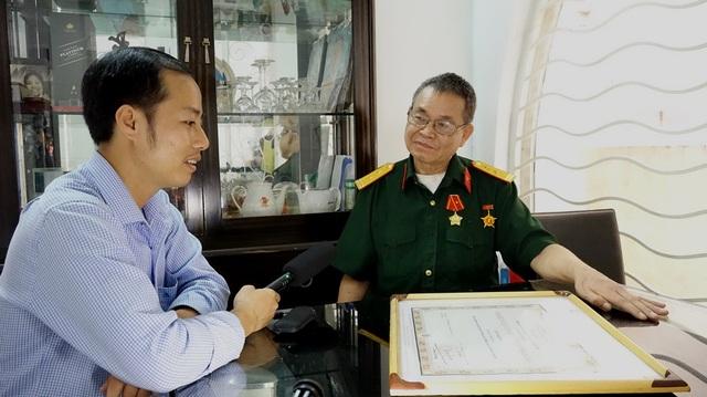 Trung tá Bùi Hồng Hà, cựu chiến binh tiểu đoàn 16, kể lại trận đánh ác liệt vang danh tiểu đoàn anh hùng