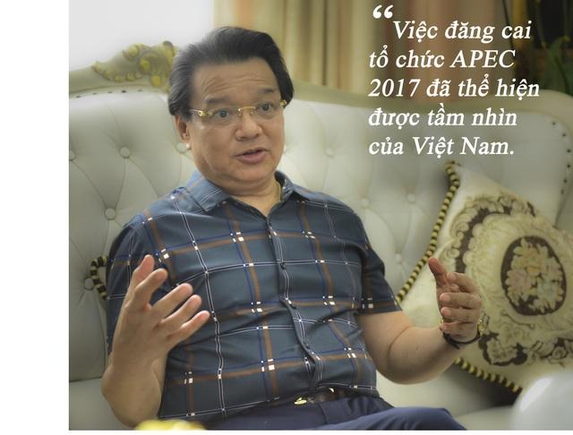 Theo Đại sứ Trương Triều Dương, việc đăng cai tổ chức APEC đã thể hiện được tầm nhìn của Việt Nam