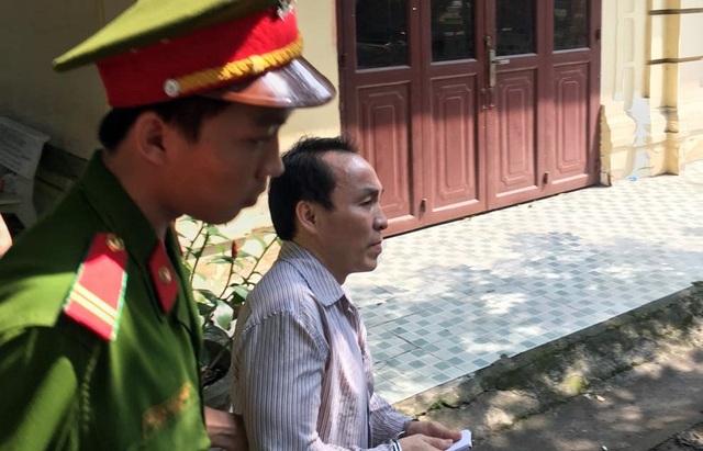 Bị cáo Tuấn sau phiên tòa.