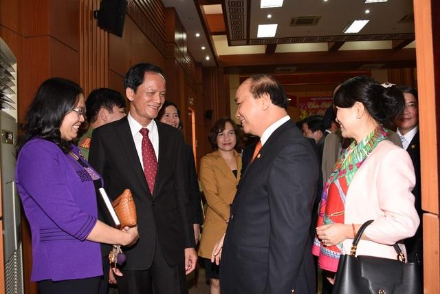 Thủ tướng nói chuyện với cán bộ lãnh đạo tỉnh Quảng Nam