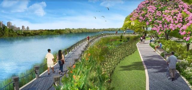 Sakura Park được kỳ vọng sẽ một địa danh mới giúp người dân TP.HCM thưởng lãm cảnh quan vô cùng lãng mạn với những hàng hoa Anh Đào