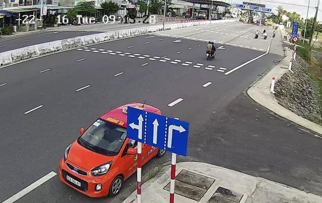 """""""Lạ lùng"""" ô tô rồng rắn ngược chiều quốc lộ 1A - 3"""
