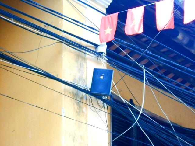 Loa thùng điện tử trong phố cổ sẽ giảm được tiếng ồn