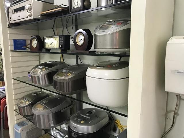 Các mặt hàng đồ điện tử tiêu dùng Nhật bãi rất đa dạng, từ tủ lạnh, máy điều hòa, máy giặt cho đến nồi cơm điện, quạt, thiết bị âm thanh,...