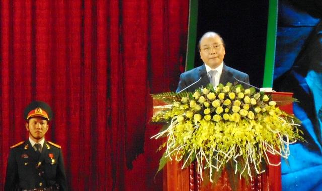 Thủ tướng phát biểu tại buổi lễ