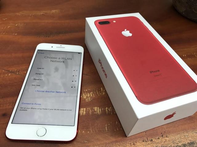 Trên Tay Iphone 7 Plus Màu đỏ Vừa Xuất Hiện ở Hà Nội Giá 25