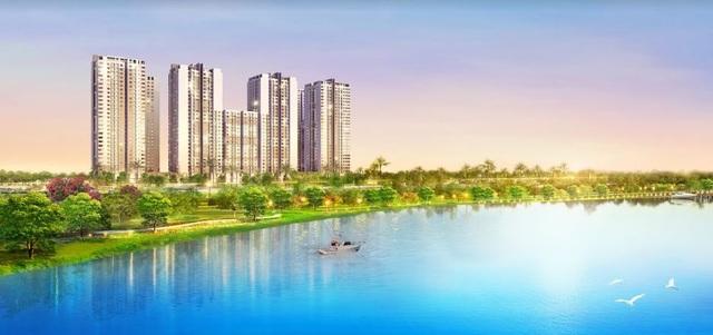 Saigon South Residences là dự án được thị trường hấp thụ khá tốt đạt con số gần 1.500 căn trong 4 đợt công bố. Ảnh tầm nhìn sông của các căn hộ tòa nhà D có hướng Đông Bắc