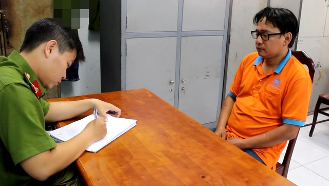 Nghi can Phong đang bị Công an quận 2, TPHCM tạm giữ để điều tra làm rõ hành vi chống người thi hành công vụ.