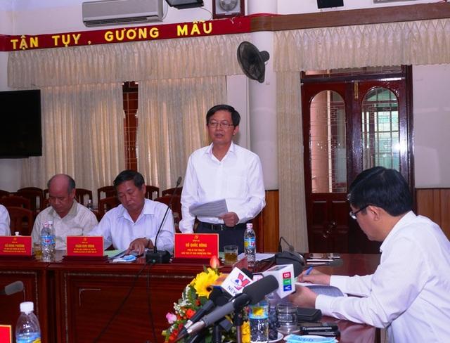Chủ tịch UBND tỉnh Bình Định, cam kết với Phó Thủ tướng Vương Đình Huệ, từ ngày 1/6, địa phương sẽ không còn sở nào vượt quá 3 phó giám đốc.