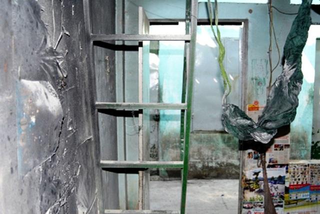 Hiện trường vụ cháy nổ do sáng chiết gas trái phép tại Thuận An, Bình Dương khiến 1 người chết, 16 người bị thương vào tháng 4/2012.