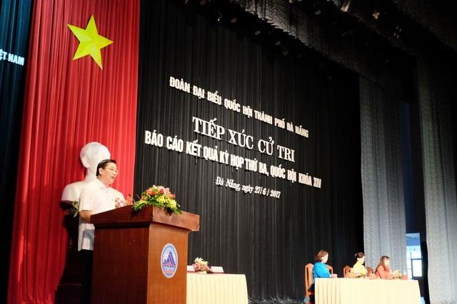 Đoàn ĐBQH TP. Đà Nẵng tiếp xúc cử tri ngày 27/6
