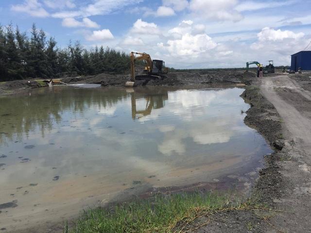 Hồ chứa chất thải của Nhà máy hầu như không được sử dụng vì tro xỉ đã được mua hết