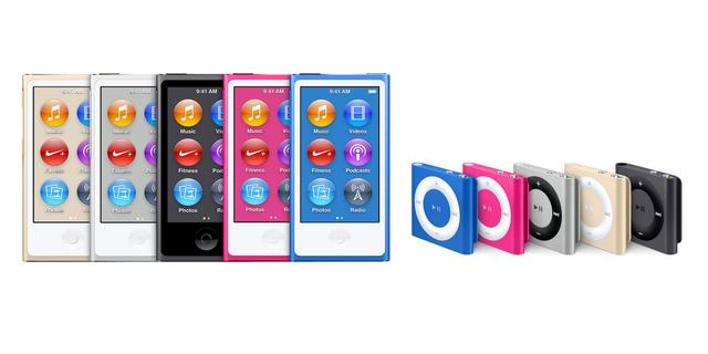 iPod Nano và iPod Shuffle