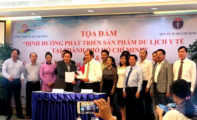 Sở Du lịch và Sở Y tế ký kết liên tịch phát triển du lịch y tế