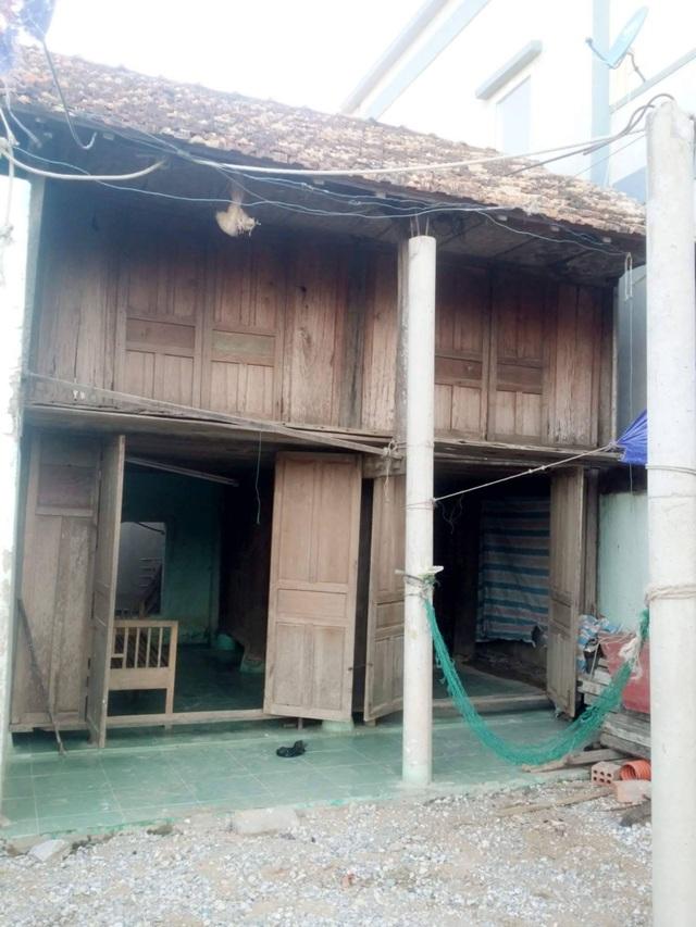 Căn nhà nghèo nàn của gia đình chị Cao Thị Viễn