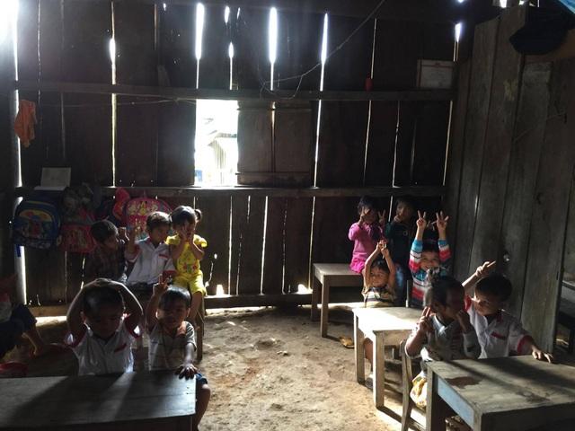 Điểm trường 3C, nơi cô Thủy được phân công đến dạy