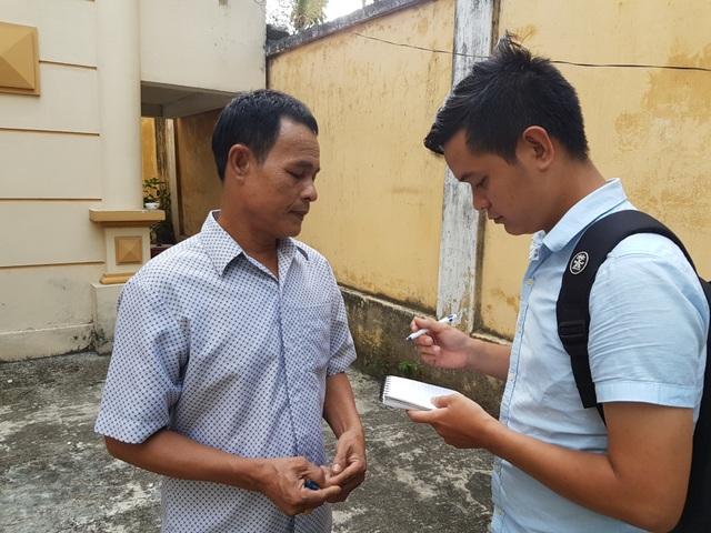 Ngư dân Trần Văn Liên trao đổi về vụ kháng cáo của Công ty Bảo Duy
