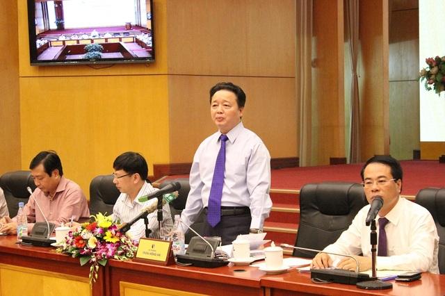 Bộ trưởng Trần Hồng Hà khẳng định việc lấp sông Đồng Nai làm dự án là không được phép.