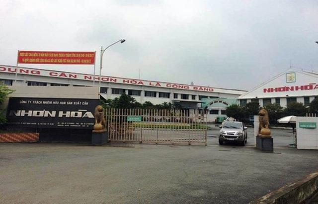 Công ty TNHH Sản xuất cân Nhơn Hòa, nơi xảy ra nghi án trộm đột nhập lấy 8,5 tỷ đồng.