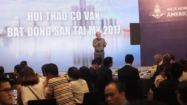 Nguyên Thứ trưởng Đặng Hùng Võ chia sẻ những thông tin về thị trường đầu tư tại Mỹ