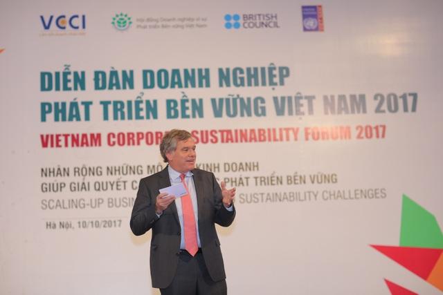 Tổng giám đốc HEINEKEN Vietnam Leo Evers nói về giải pháp sáng tạo trong thực hiện các mục tiêu phát triển bền vững