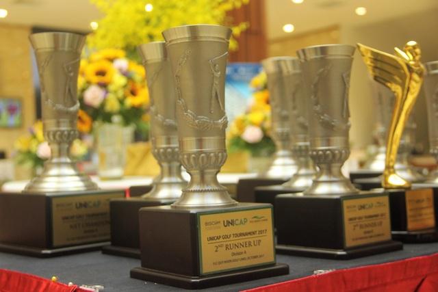 Tổng giá trị các giải thưởng của Unicap Golf Tournamnet 2017 lên đến 15 tỷ đồng.