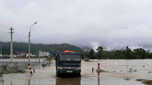 Cảnh báo lũ trên sông Kôn, điều tiết hồ Định Bình - 2